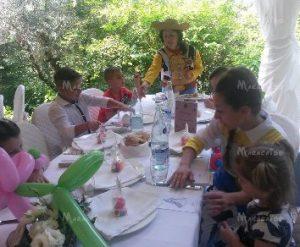 Entertainment children wedding