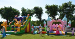 Noleggio gonfiabili per bambini feste sagre eventi aziendali Ancona Macerata Pesaro Ascoli