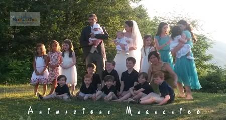 Animazione per matrimoni per bambini Ancona Macerata