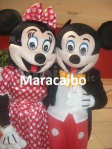 Mascotte per bambini Topolino Minnie