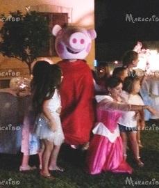 Mascotte per bambini Peppa Pig Pigiamini Pj Mask