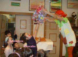 Pignatte con sorprese per bambini