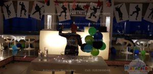 Compleanno Festa a tema fortnite animazione bambini
