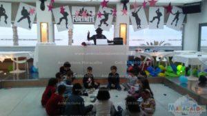Festa a tema fortnite animazione per bambini Ascoli Ancona Macerata Pesaro feste a tema