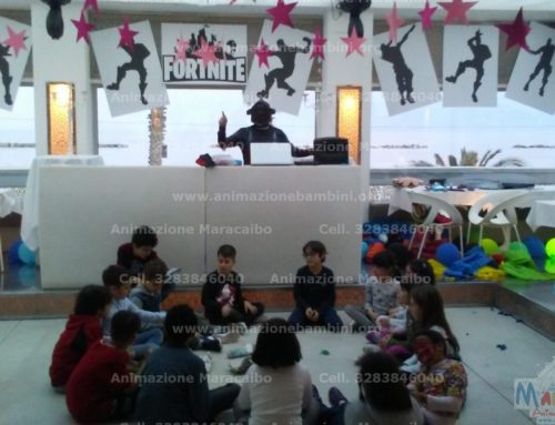 Festa a tema per bambini Fortnite