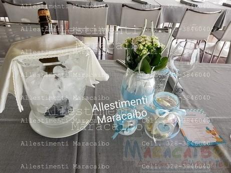 Centrotavola Allestimenti addobbi feste compleanni matrimoni Maracaibo eventi sagre tavolo torta (3)