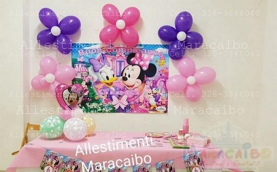 Minnie Paperina Allestimenti decorazioni feste addobbi eventi matrimoni compleanni bambini ricorrenze negozi organizzazione