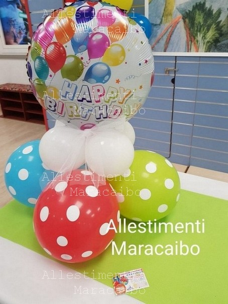 Centrotavola Happy Birthday