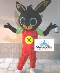 Mascotte Bing Maracaibo professionale noleggio animazione bambini feste a-min