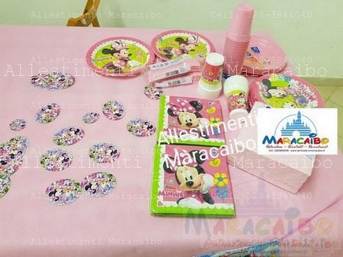Minnie Allestimento tavolo Allestimenti addobbi feste compleanni matrimoni Maracaibo eventi sagre tavolo torta (22)