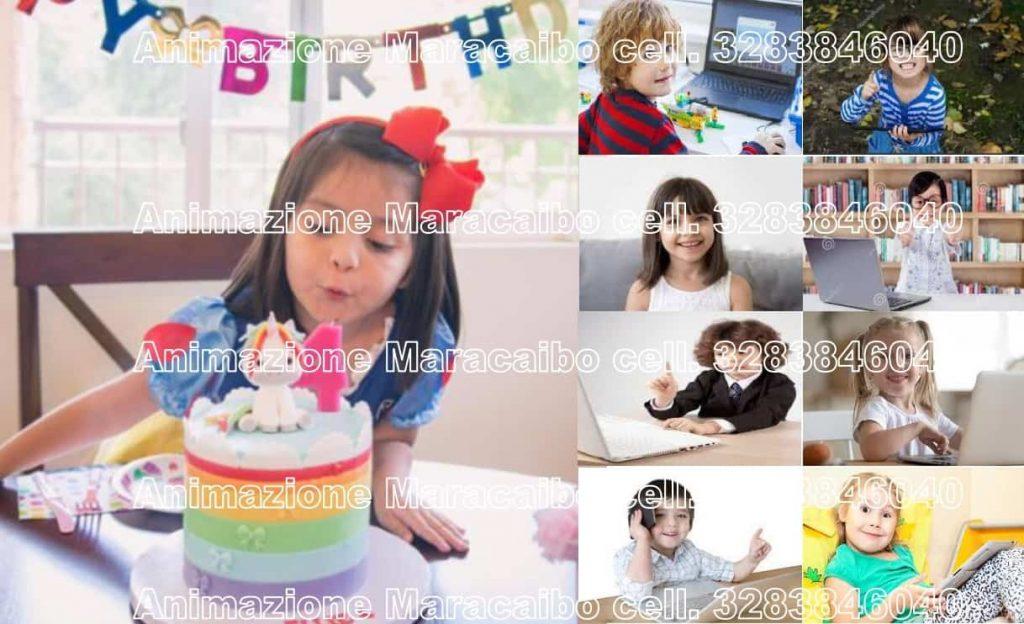 Feste di compleanno online a distanza streaming da casa corona virus video party feste bambini virus come fare rid