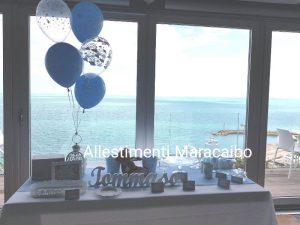 Sweet table allestimento addobbo tavolo torta compleanno battesimo cerimonie eventi festa