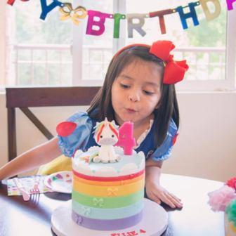 Cumpleaños en línea desde casa virtual por internet online streaming web Espana Florida Mexico Puerto Rico