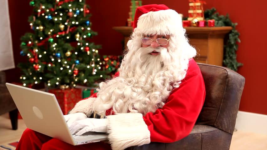 Babbo Natale online video chiamata diretta via web streaming consegna regali doni bambini festa natalizia elfi